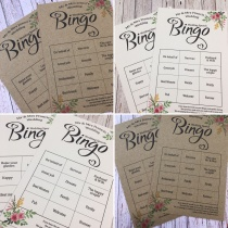 Wedding Speech Bingo